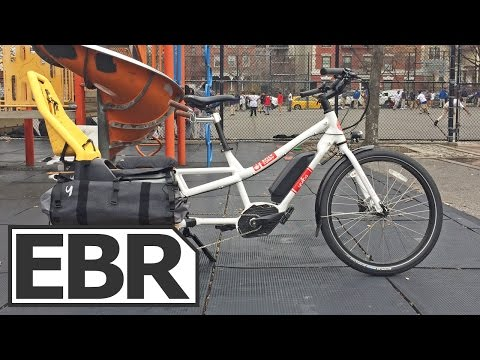 Yuba Spicy Curry Bosch Video Review - Reliable, Well-Balanced, Electric Cargo Bike