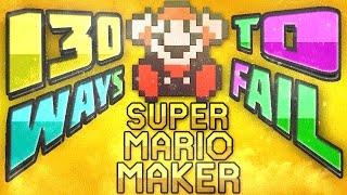 getlinkyoutube.com-130 Ways To Fail In Super Mario Maker