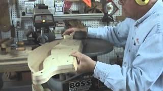 getlinkyoutube.com-Building a Rocking Horse from Old Barn siding.