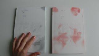 getlinkyoutube.com-Unboxing BTS (Bangtan Boys) 방탄소년단 3rd Mini Album In the Mood For Love 화양연화 Pt.1 (White & Pink Ver.)