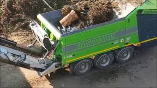 TARGO 3000 shredding greenwaste zerkleinerung von Grünabfall Grünschnitt