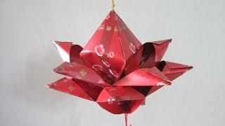 CNY TUTORIAL NO. 44 - Hongbao Lotus Flower