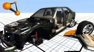 getlinkyoutube.com-BeamNG.Drive Break All Car Parts Crash Test Compilation