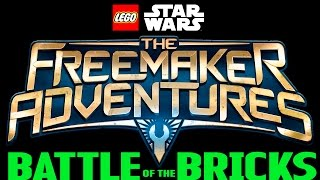 getlinkyoutube.com-LEGO Star Wars: The Freemaker Adventures BATTLE OF THE BRICKS