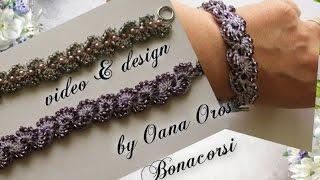 getlinkyoutube.com-crochet bracelet with beads