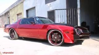 getlinkyoutube.com-WhipAddict: T-Top 78' Chevrolet Camaro Z28 on Forgiato Quintos 22s, 502 Motor, Custom Paint