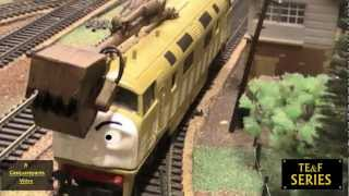 getlinkyoutube.com-Thomas And The Magic Railroad - Scene Remake - Diesel 10, Splatter & Dodge