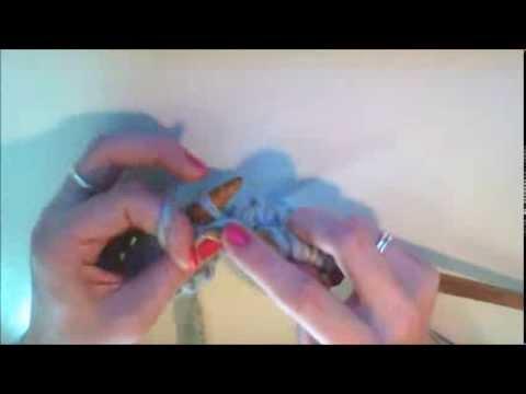 Lær at strikke glat // Glatstrik - Knit Wit Company Strikkeskole