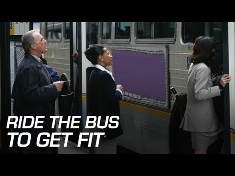Ride the Bus to Get Fit