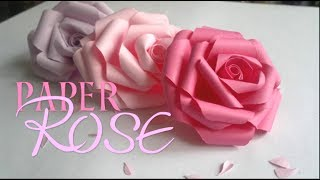 getlinkyoutube.com-DIY Paper Rose | Enn La Rush