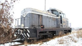 getlinkyoutube.com-How to start a diesel engine with fire - Maybach LDH70 locomotive [December, 2011]