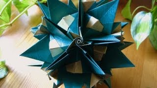 getlinkyoutube.com-Origami ɛ♥ɜ Forest Fairy ɛ♥ɜ Kusudama