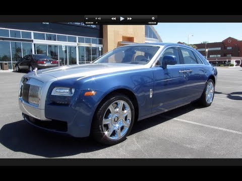 2011 Rolls Royce Ghost Start Up, Exhaust, and In Depth Tour