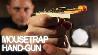 Make a Mousetrap Gun That Shoots!