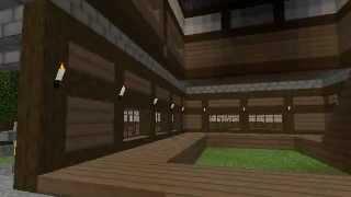 getlinkyoutube.com-【Minecraft】和風な城下町を目指して!part0 【ゆっくり実況】