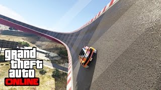 getlinkyoutube.com-LE PLUS GRAND WALL RIDE AU MONDE !! #9 - GTA V  ( ft Furious Jumper )
