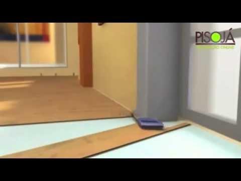 Instalação de Piso Laminado Click | Pisojá - Decoração Online | www.pisoja.com.br