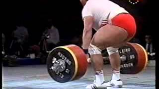 Kurlovich and Nerlinger 257.5 kg 1990