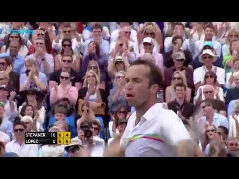 Radek Stepanek amazing shots and celebrations!