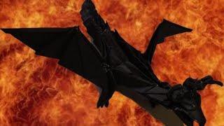 getlinkyoutube.com-HD Origami Dark Dragon Tutorial