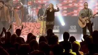 God is fighting for us, pushing back the darkness - Darlene Zschech