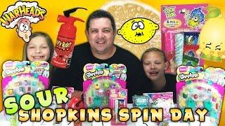 getlinkyoutube.com-Sour Shopkins Spin Day - Shopkins Season 3 Ultra Rare - Sour Candy