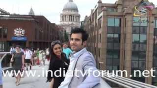 getlinkyoutube.com-Karan Tacker & Krystle Dsouza having Fun in London