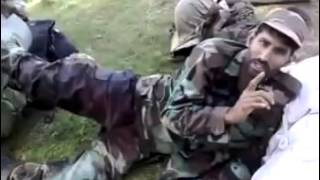 Soldier Shot and Bleeding yet Smiling : Pakistan Army