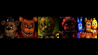 getlinkyoutube.com-Five nights at freddy's 1 2 3 4 and FNAF WORLD TRAILERS