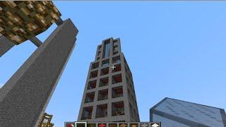 minecraft สอนสร้างโรงแรม ขนาดกลาง ตอนที่1