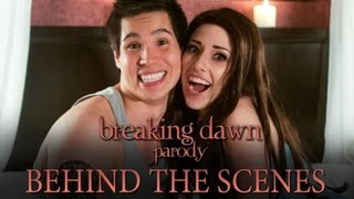 getlinkyoutube.com-The Making of Breaking Dawn Parody by The Hillywood Show®