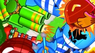 getlinkyoutube.com-THIS IS CRAZY! - Bloons TD Battles - NEW BTD Battles Club Arena! Sniper, Gatling & Mortar?!