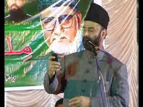 Dr Khayam Khan speech at Jalse Milli Bedari at Gazi E Millat Coolony held on 19th March 2014