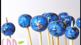 getlinkyoutube.com-Lapislazzuli in Pasta Polimerica - Plymer Clay Lapis Lazuli