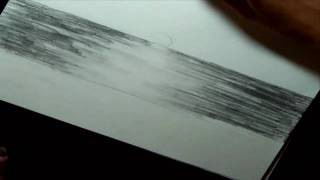 getlinkyoutube.com-How To Draw A Landscape - The Ocean