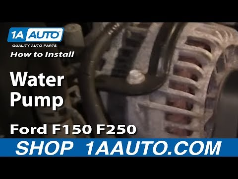 How To Replace Water Pump 97-04 5.4L V8 Ford F150