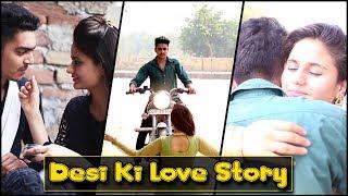 DESI KI LOVE STORY || Rachit Rojha || Namra Qadir width=