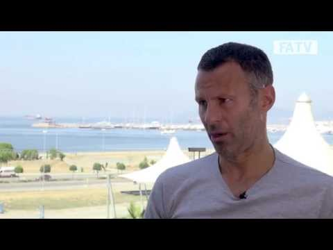 Ryan Giggs on his plans to coach in the future as he takes his UEFA Pro Licence