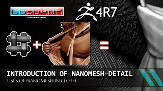getlinkyoutube.com-ZBRUSH 4R7_ NANOMESH FOR CLOTH TUTORIAL(DETAIL)