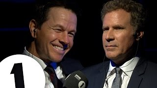 getlinkyoutube.com-Will Ferrell & Mark Wahlberg Insult Each Other | CONTAINS STRONG LANGUAGE!