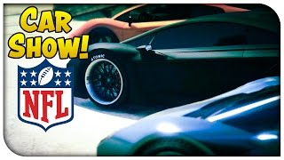 getlinkyoutube.com-GTA 5 Online - NFL THEMED CAR SHOW! [GTA V]