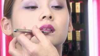 getlinkyoutube.com-【公式】YVES SAINT LAURENT 今日もトップに君臨するひと筆の美人マジック カラーメイク編 VOGUE BEAUTY AWARD - ISETAN Beauty by IPn