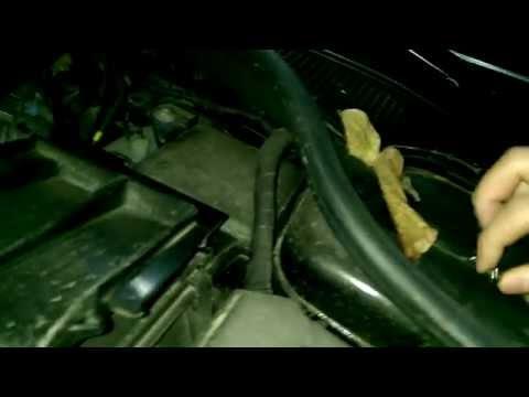 Замена лампочки габарита в Renault Laguna 3