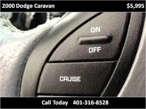 2000 Dodge Caravan Used Cars Boston MA