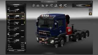 getlinkyoutube.com-ETS2 MAN TGS Tuning & Customization