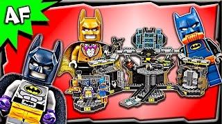 getlinkyoutube.com-Lego Batman Movie BATCAVE Break-in 70909 Stop Motion Build Review