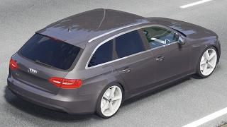 getlinkyoutube.com-Audi A4 B8 Avant facelift drive (Links) - Racer: free game