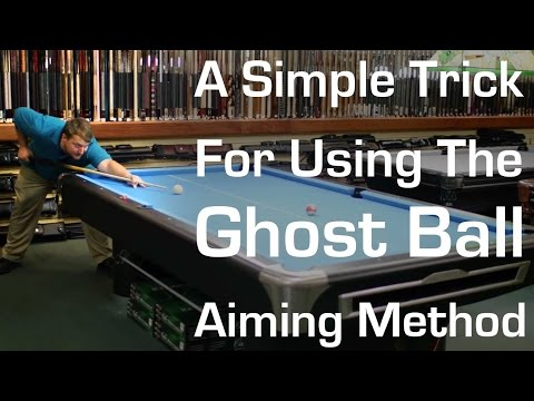 A simple trick for using the Ghost Ball aiming method