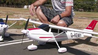 getlinkyoutube.com-New Airfield 4Ch Brushless Sky Trainer Review