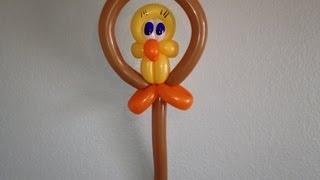 getlinkyoutube.com-Tweety Bird Balloon